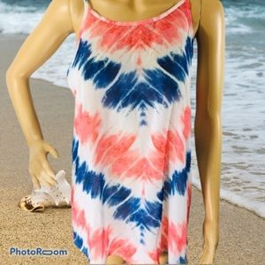 OP Red White And Blue Swim Coverup sm